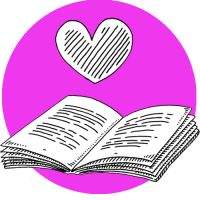 Love of reading icon 2