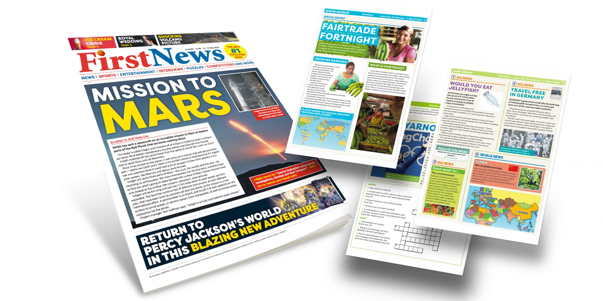 First News Newspaper with Activity Sheets