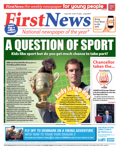 First News Issue 419 First News For Schools First News
